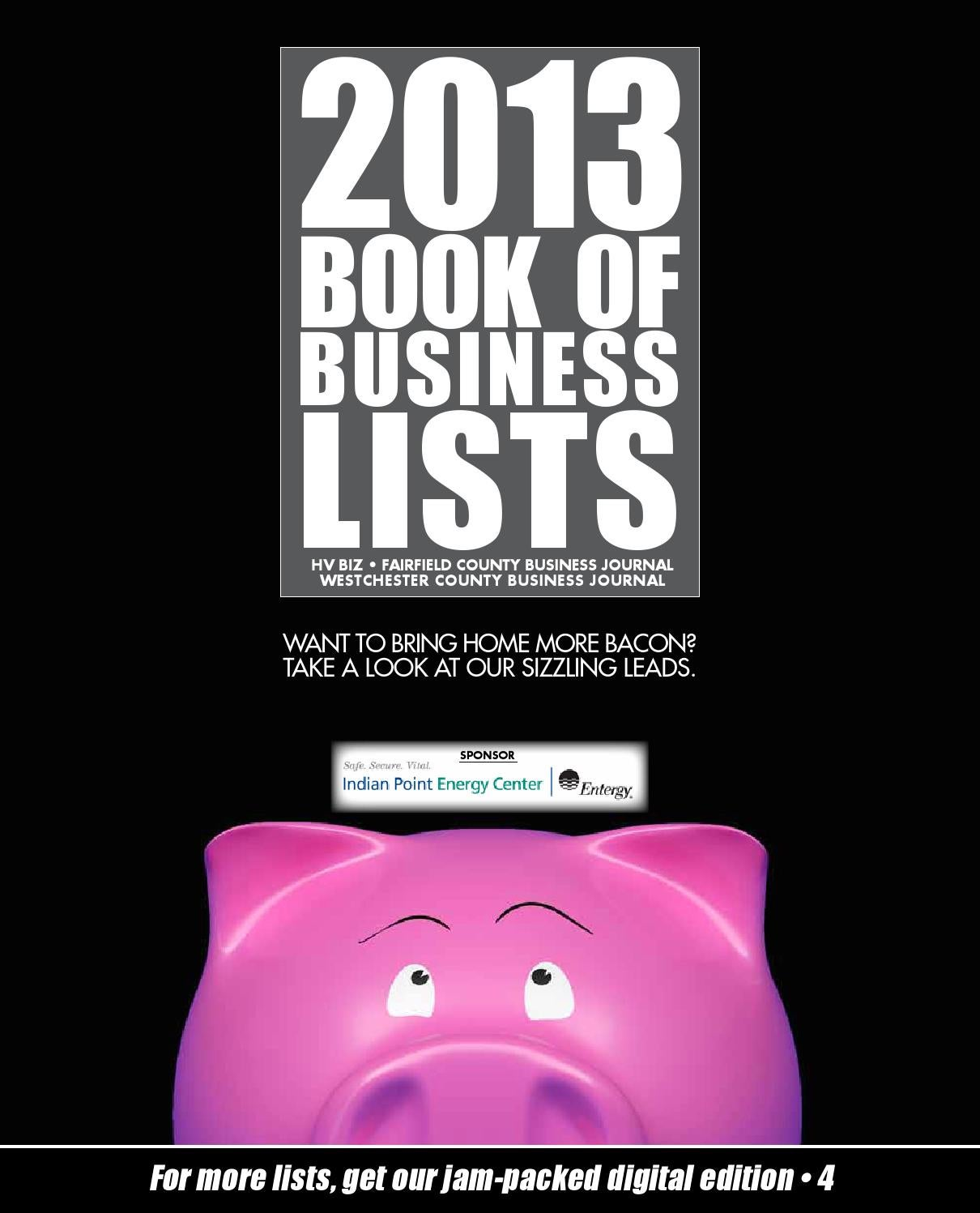 Bookoflists 2013 by wag magazine issuu 1betcityfo Image collections