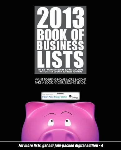 Bookoflists 2013 by Wag Magazine - issuu