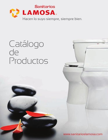 Cat logo de productos lamosa by mn del golfo issuu for Sanitarios easy catalogo