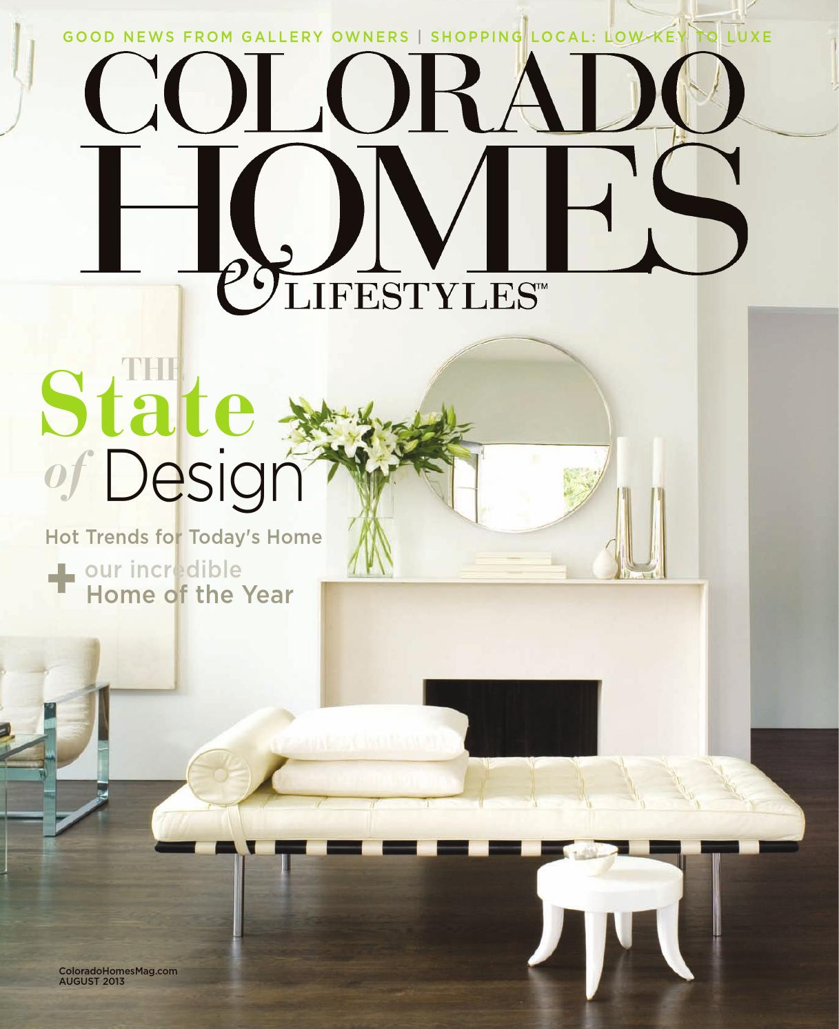 Colorado Homes & Lifestyles August 2013 by Network Communications ...