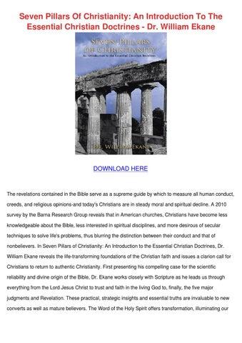 4 pillars of christian dating
