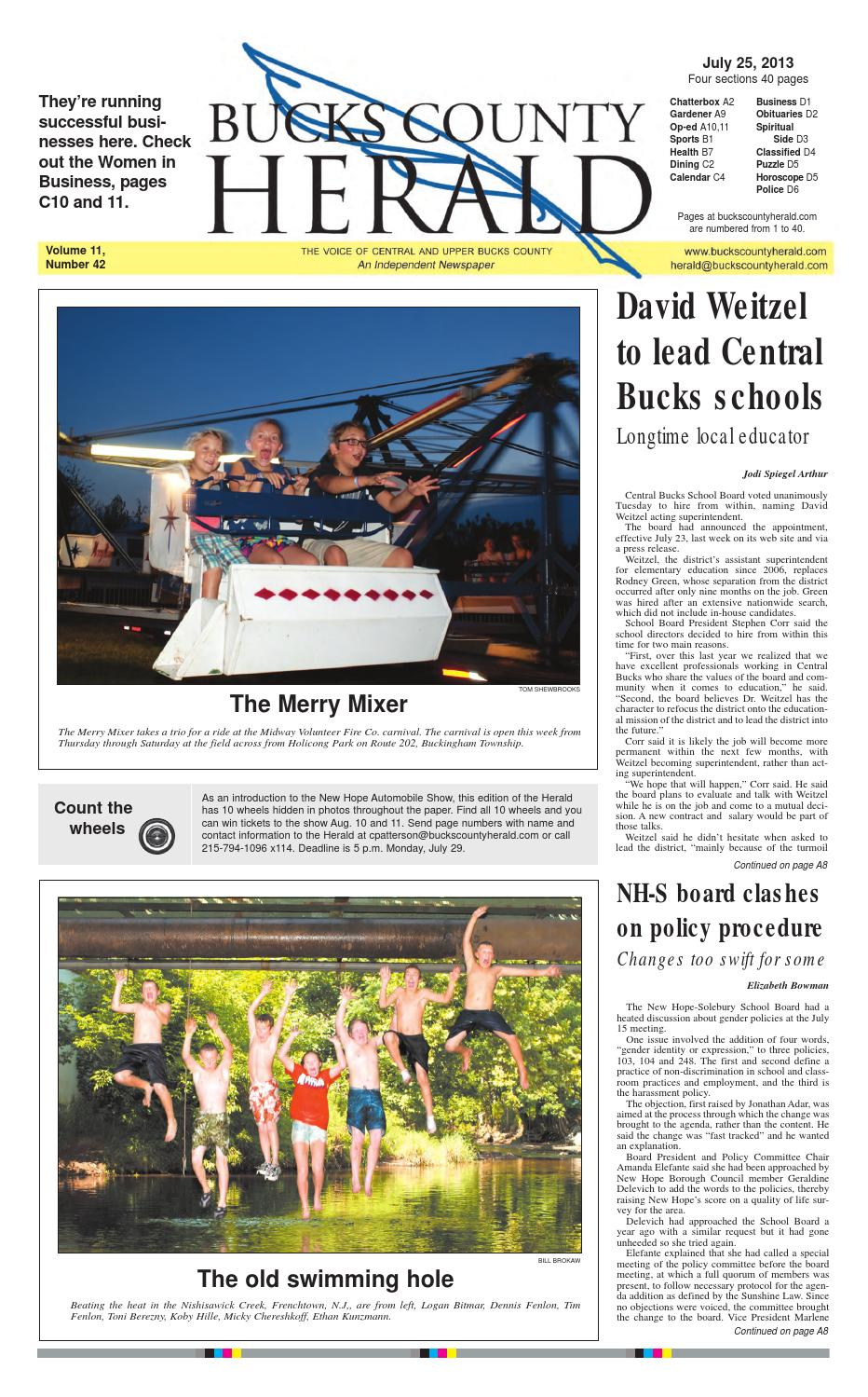 Issue 7 25 13 by Bucks County Herald issuu