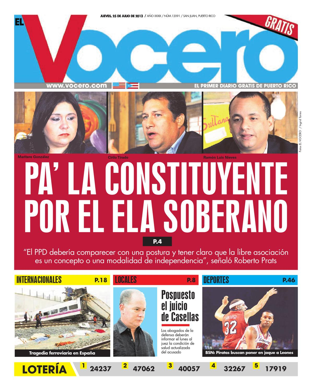 Edición 25 de Julio 2013 by El Vocero de Puerto Rico - issuu