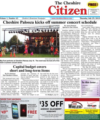 Cheshirecitizenjuly 25 2013 by cheshire citizen issuu page 1 fandeluxe Image collections