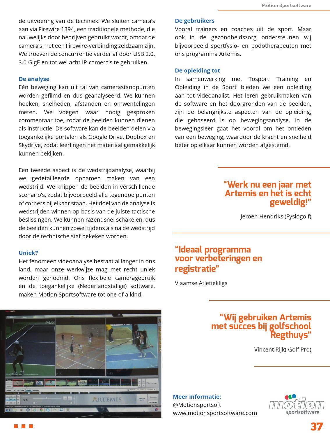 Sportprof By Sportnetwerk Issuu