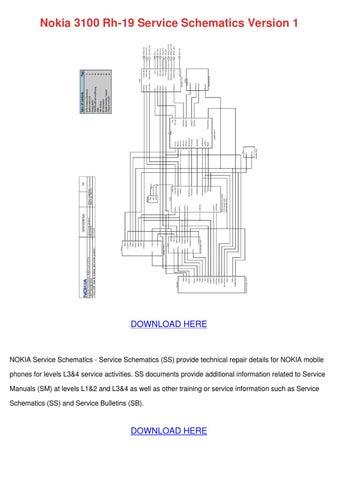 nokia 3100 rh 19 service schematics version 1 by laurencekhan issuu rh issuu com Behringer Mixer Manuals Types of Manuals