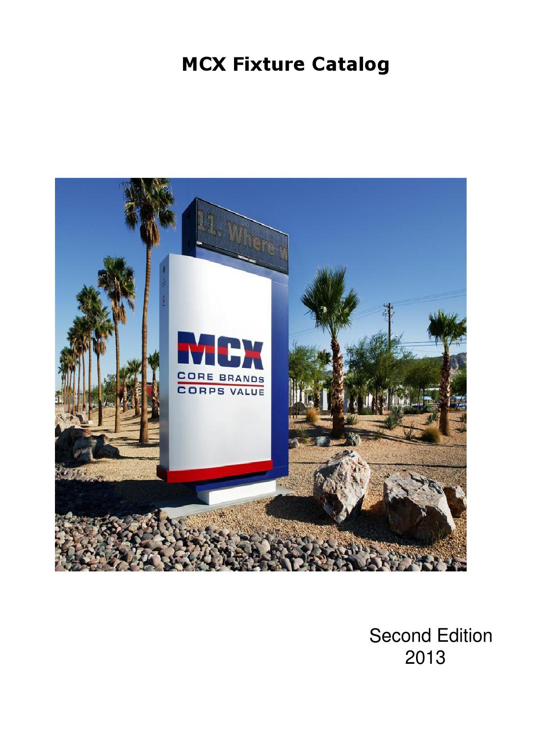 Mcx Fixture Catalog By Marine Corps Exchange Issuu