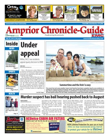 Arnprior072513 By Metroland East Arnprior Chronicle Guide Issuu