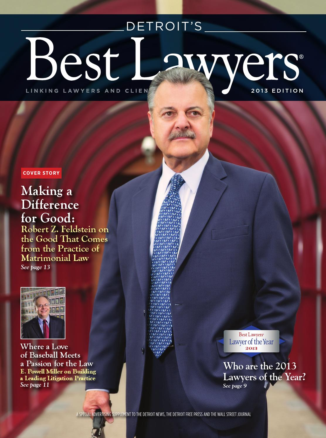 Detroitu0027s Best Lawyers 2013 By Best Lawyers   Issuu