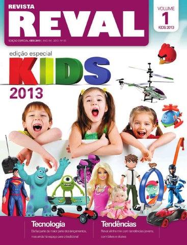 8a5f0e2db1 Revista Reval Kids 2013 - Volume 01 by Reval Atacado de Papelaria ...