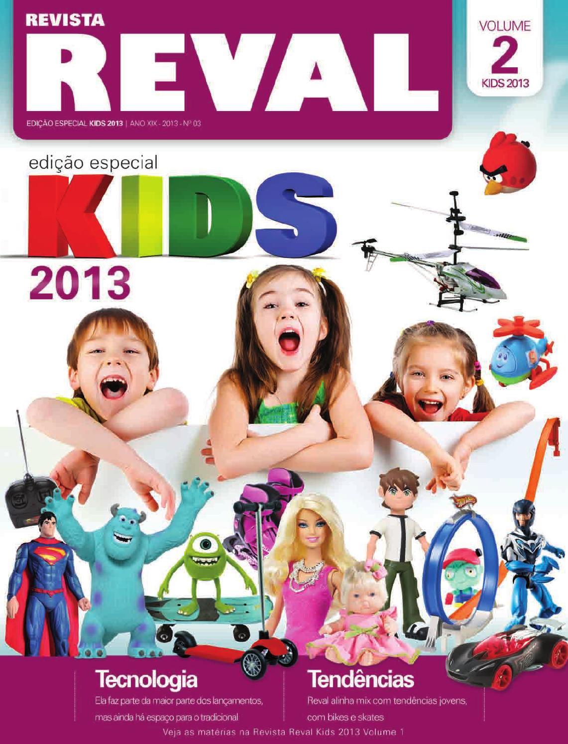 d934c1138 Revista Reval Kids 2013 - Volume 02 by Reval Atacado de Papelaria Ltda. -  issuu
