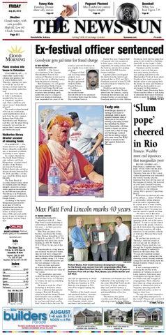 9728834613e The News Sun – July 26, 2013 by KPC Media Group - issuu