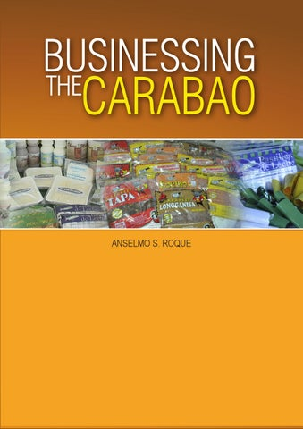 Businessing the Carabao by krmc library - issuu