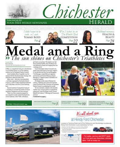 Chichester Herald Issue 98 26th July 2013 by Chichester Herald - issuu a0f882c99a