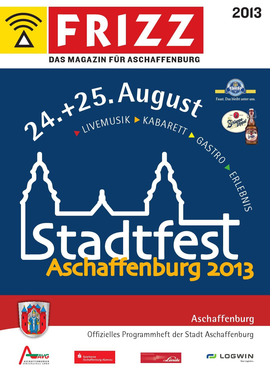 Stadtfestguide Aschaffenburg 2013 by MorgenWelt Verlag - issuu