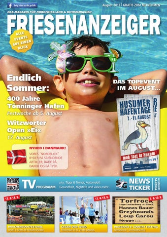 Friesenanzeiger August 2013 by new media works - issuu 78ecc9715e