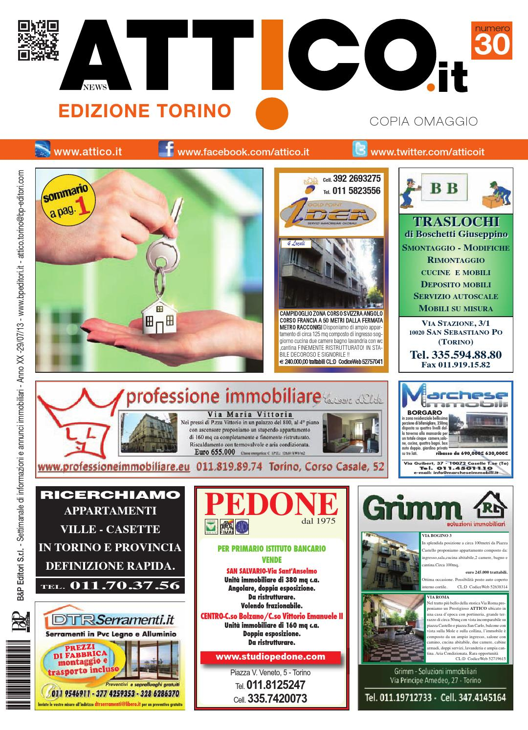 9560945c45 Attico torino 1330 by B&P Editori - issuu