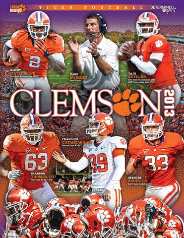 2013 Clemson Football Media Guide by Clemson Tigers issuu  free shipping