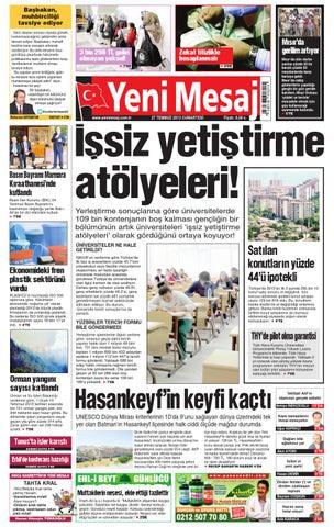 Yeni Mesaj Gazetesi Avrupa 27 Temmuz 2013 By T C Ali Asa Issuu