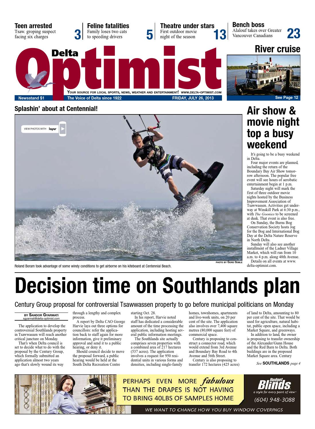 Delta Optimist July 21 21 by Glacier Digital   issuu