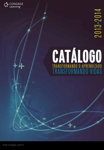 Catálogo Cengage – 2013 2014 by Cengage Brasil - issuu 150ff5f114