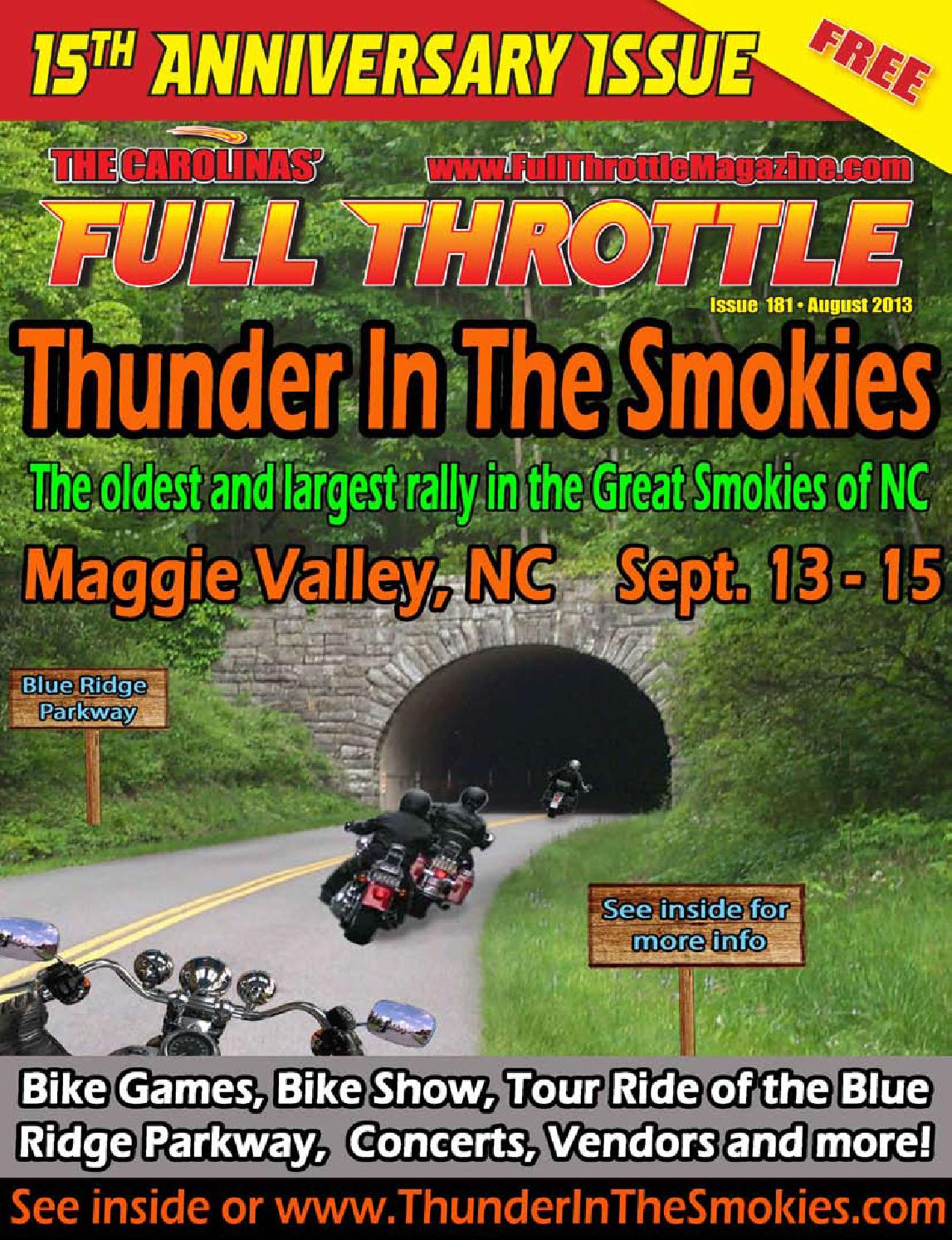 Issue 181 august 2013 the carolinas 39 full throttle - Cruisin carolina magazine ...