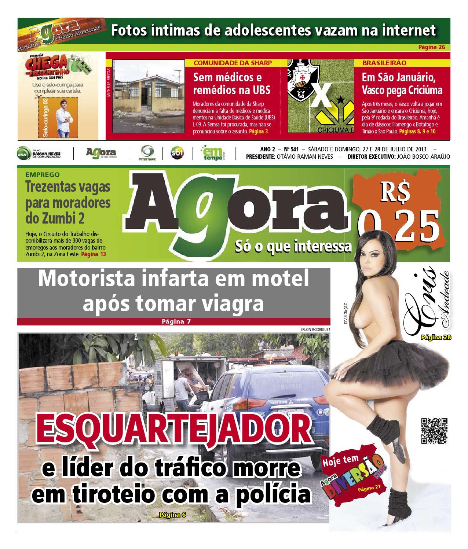 Agora - 27 de julho de 2013 by Amazonas Em Tempo - issuu c619b1984259e