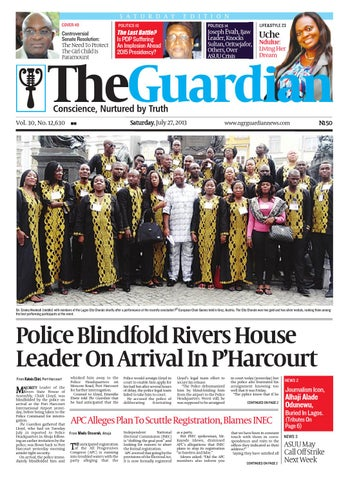 Sat 27 July 2013 By The Guardian Newspaper Issuu