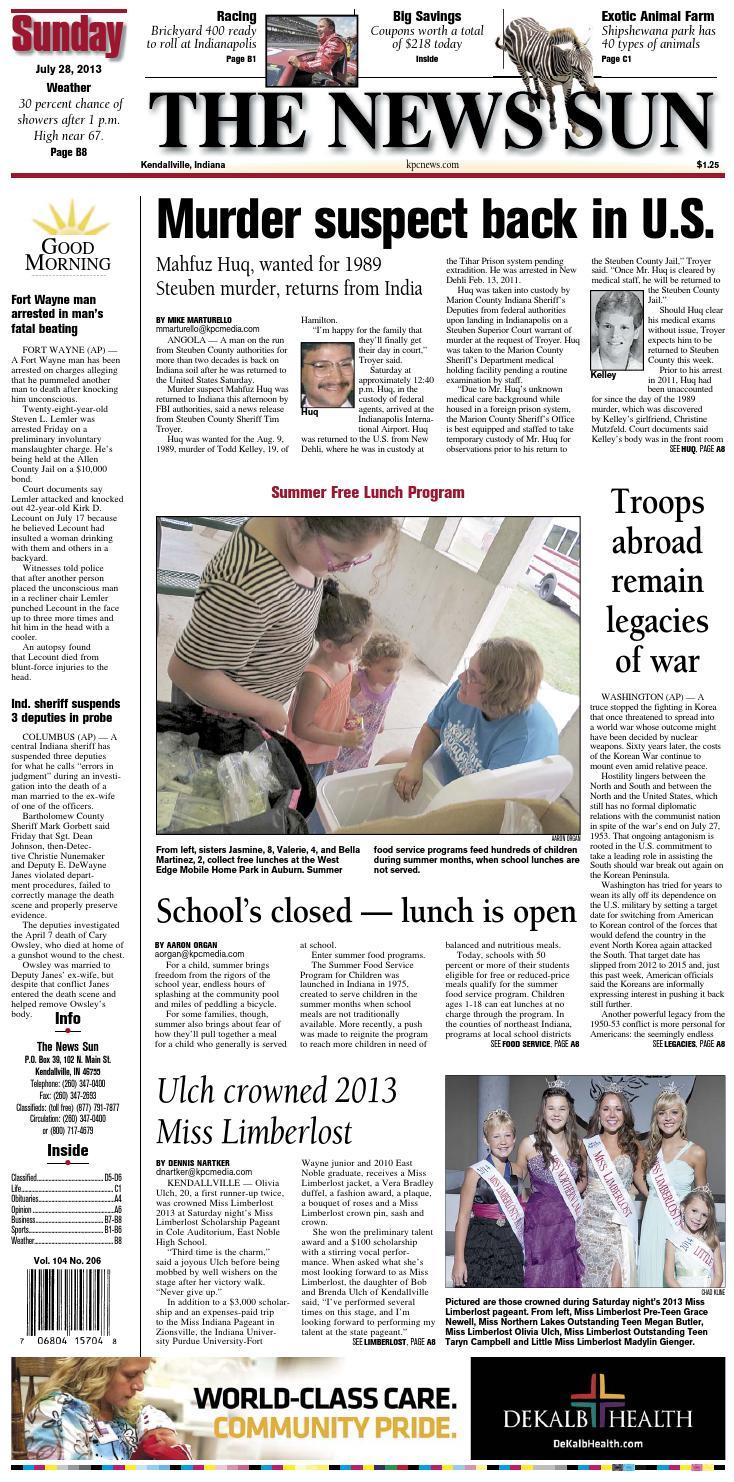 d8c1ffa0125e The News Sun – July 28