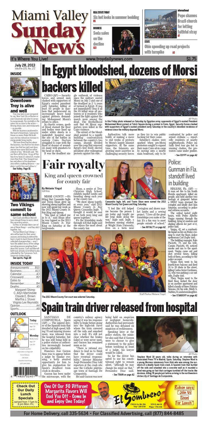 924cb15e47 Miami Valley Sunday News by I-75 Newspaper Group - issuu