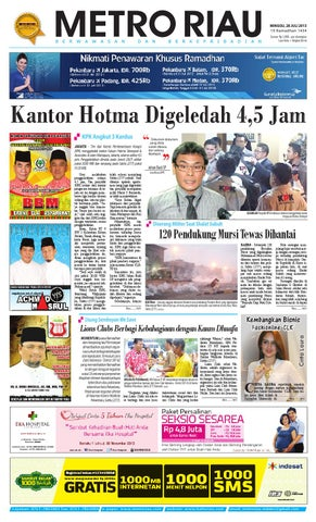 280713 by Harian Pagi Metro Riau - issuu be13f2e01a