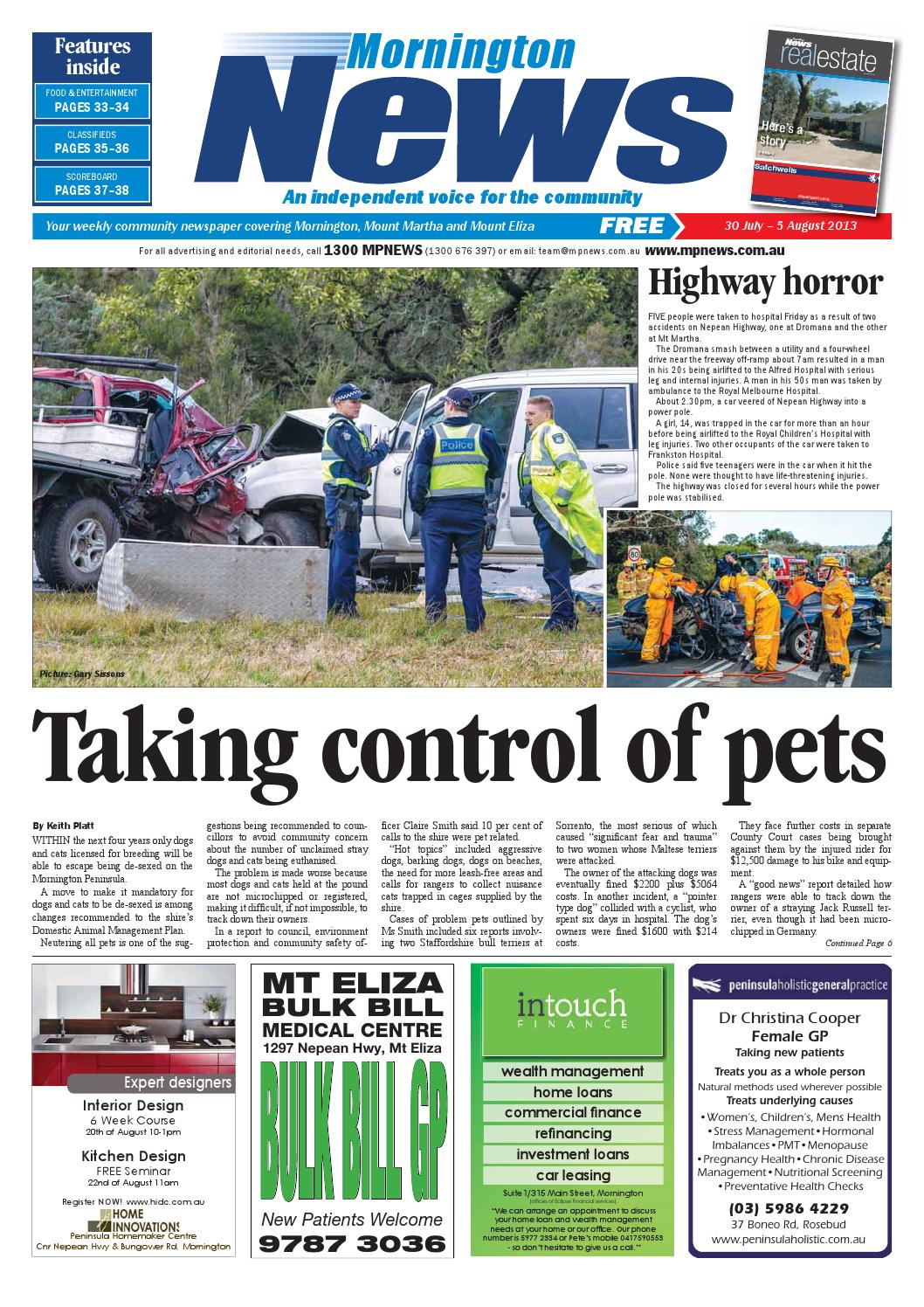 pretty nice ce52b 92b0e 30th July 2013 by Mornington Peninsula News Group - issuu