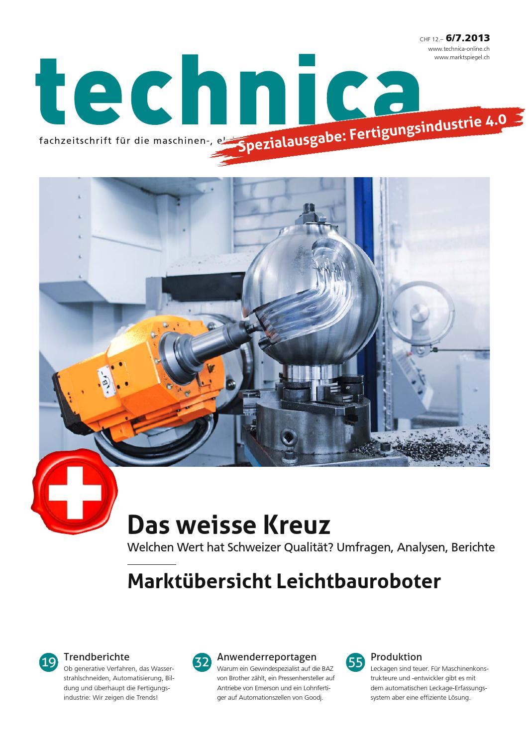 technica 06/07 - 2013 by AZ Fachverlage AG - issuu