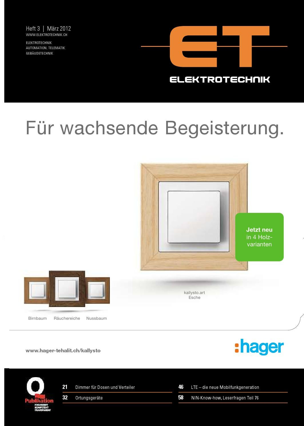 Elektrotechnik 03 - 2012 by AZ Fachverlage AG - issuu