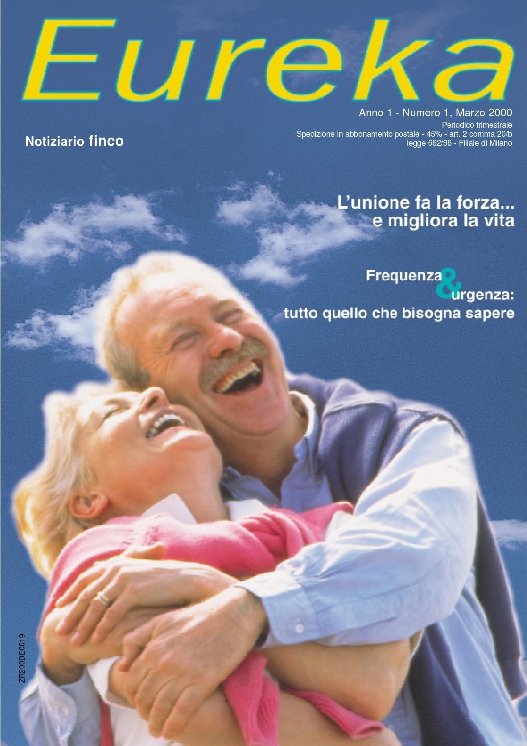 1eureka1 anno1marzo2000 by finco issuu for Recapito postale