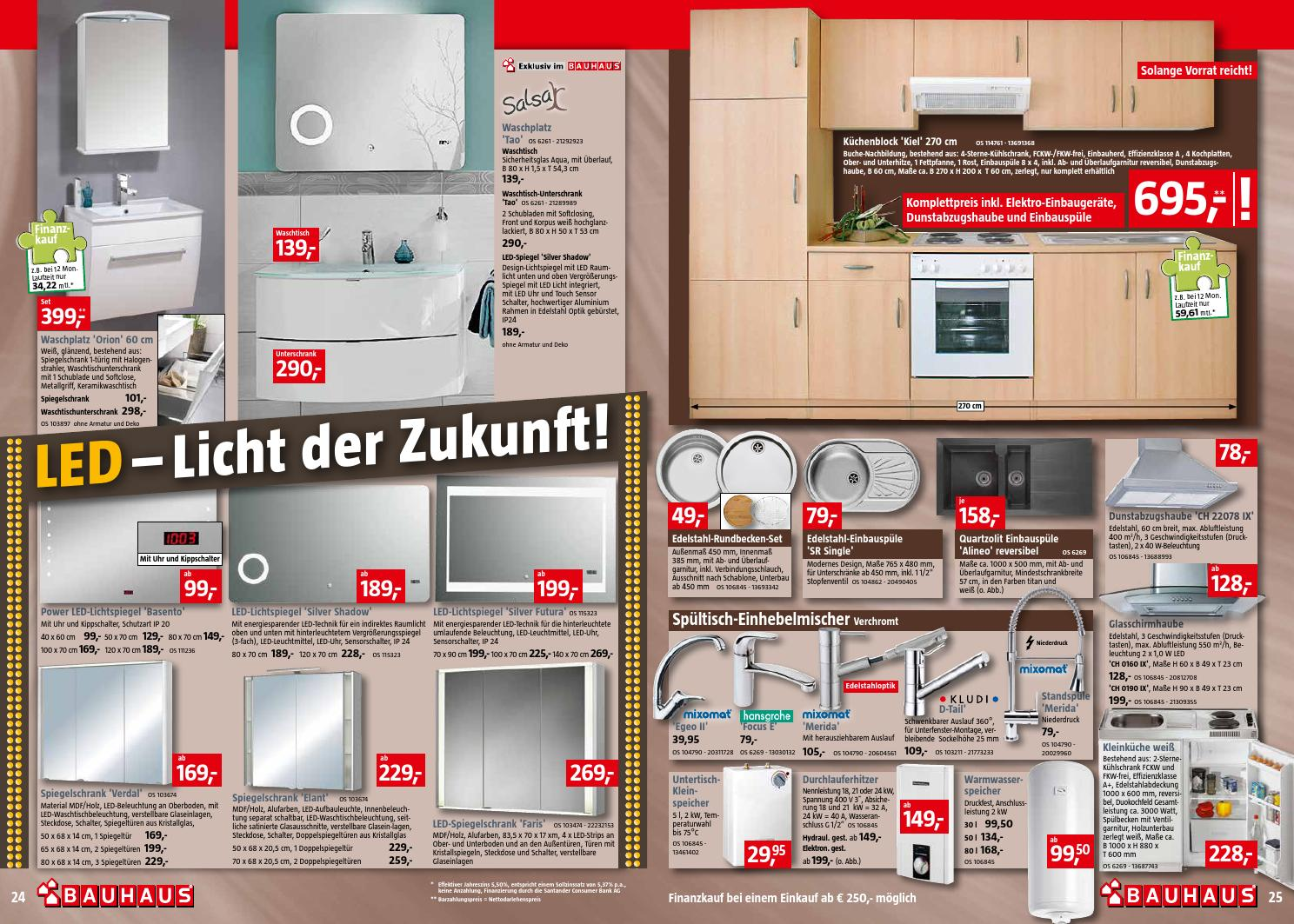Bauhaus Küchenblock ~ bauhaus 28juli 28august2013 by promoprospekte de issuu