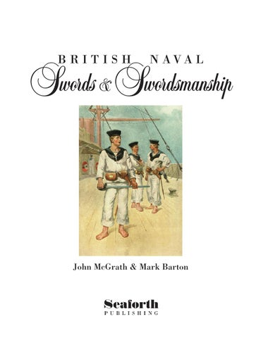 Naval swords and Swordsmanship by Pen and Sword Books Ltd - issuu