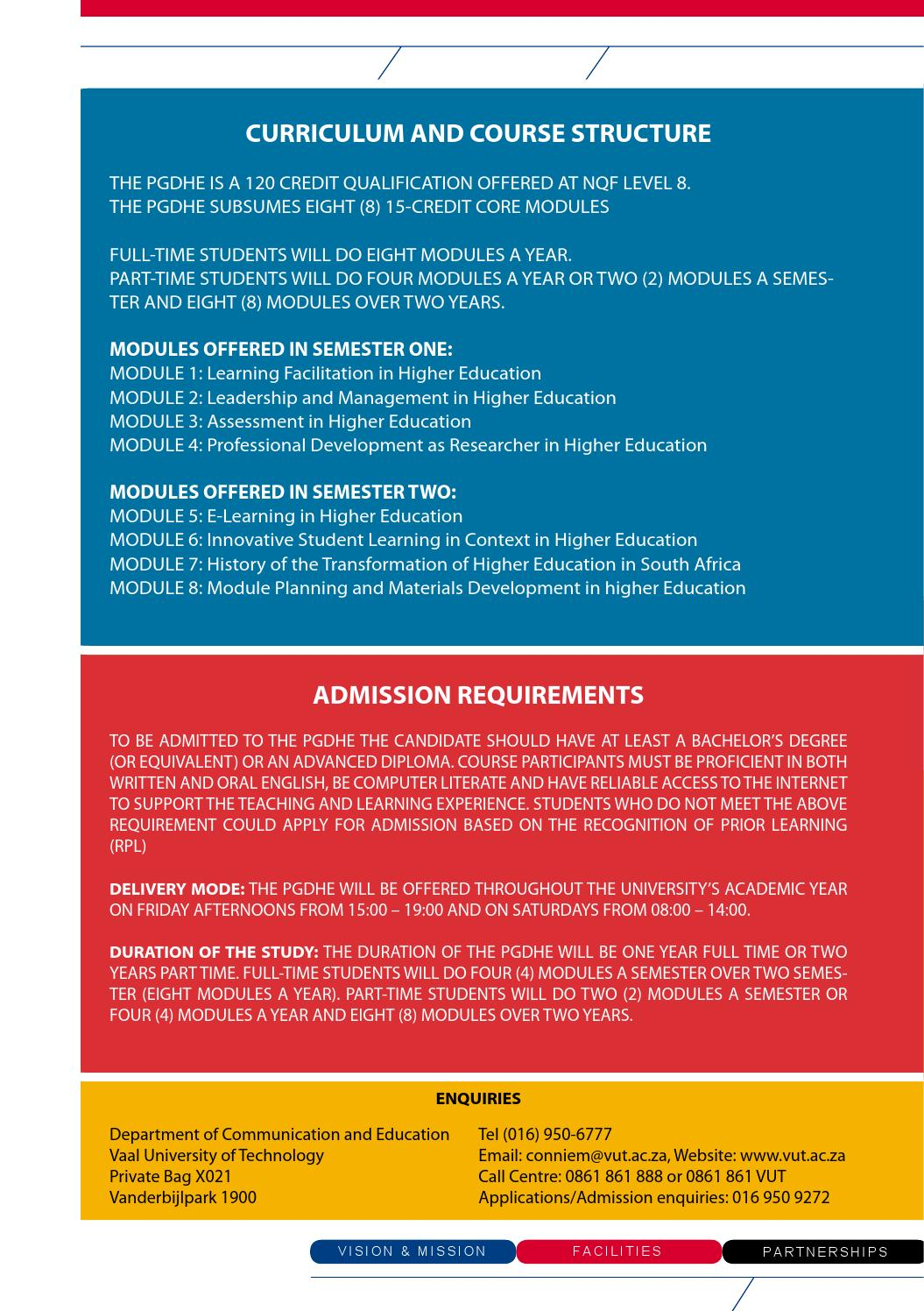 Satn Changes To Higher Education Qualifications In South Africa