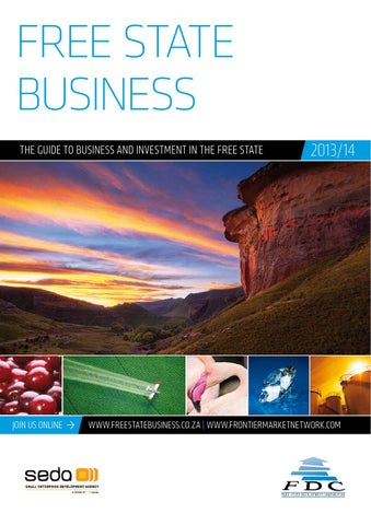 Free state business the guide to business and investment in the free state