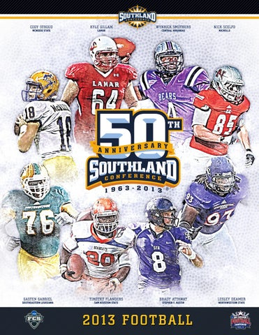 2013 Southland Conference Football Guide By Southland Conference Issuu