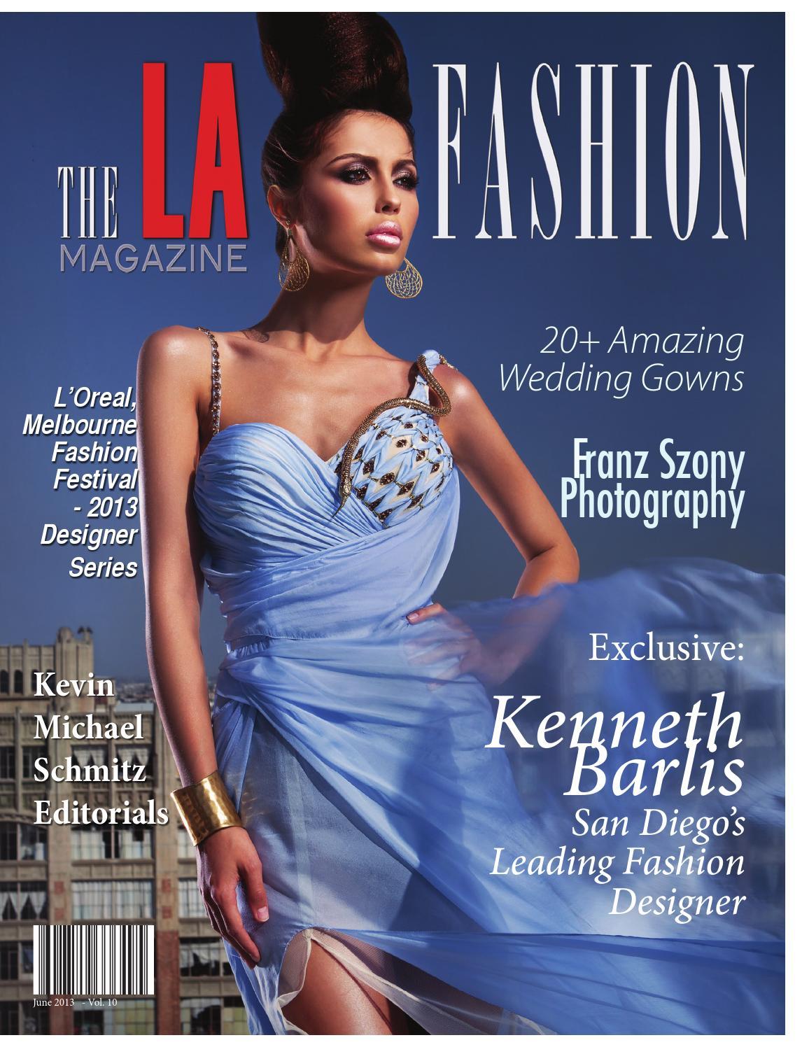 The LA Fashion Magazine June 2013 By The LA Fashion