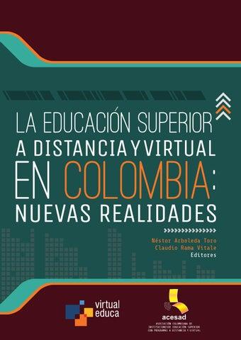 Libro2013 la educacion superior a distancia y virtual en colombia by ...