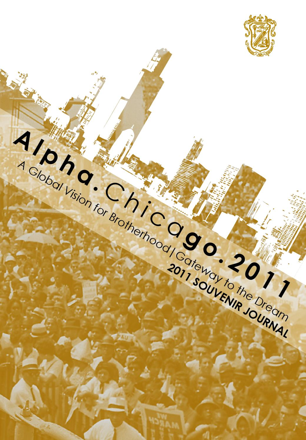 2011 Chicago General Convention Souvenir Journal by Alpha