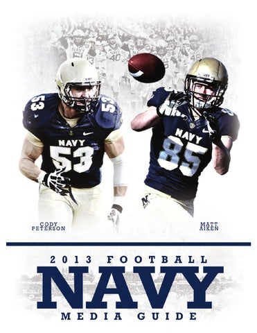 2013 Navy Football Media Guide by Naval Academy Athletic Association ... 89650c64b