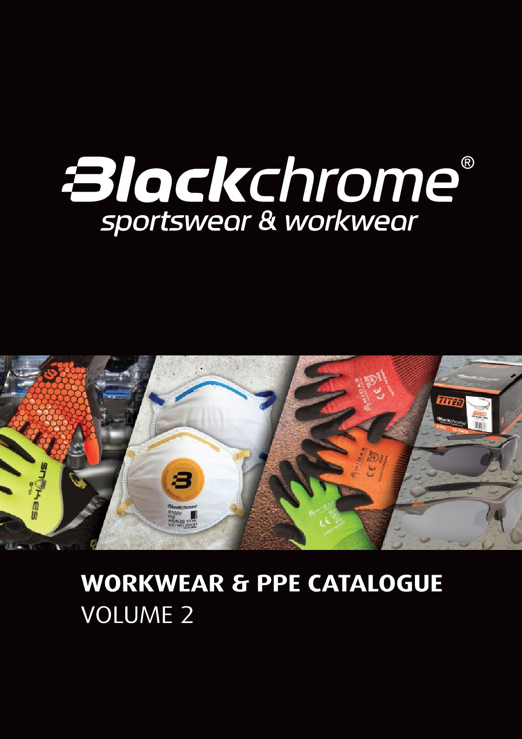 Blackchrome Workwear Amp Ppe Catalogue Volume 2 By