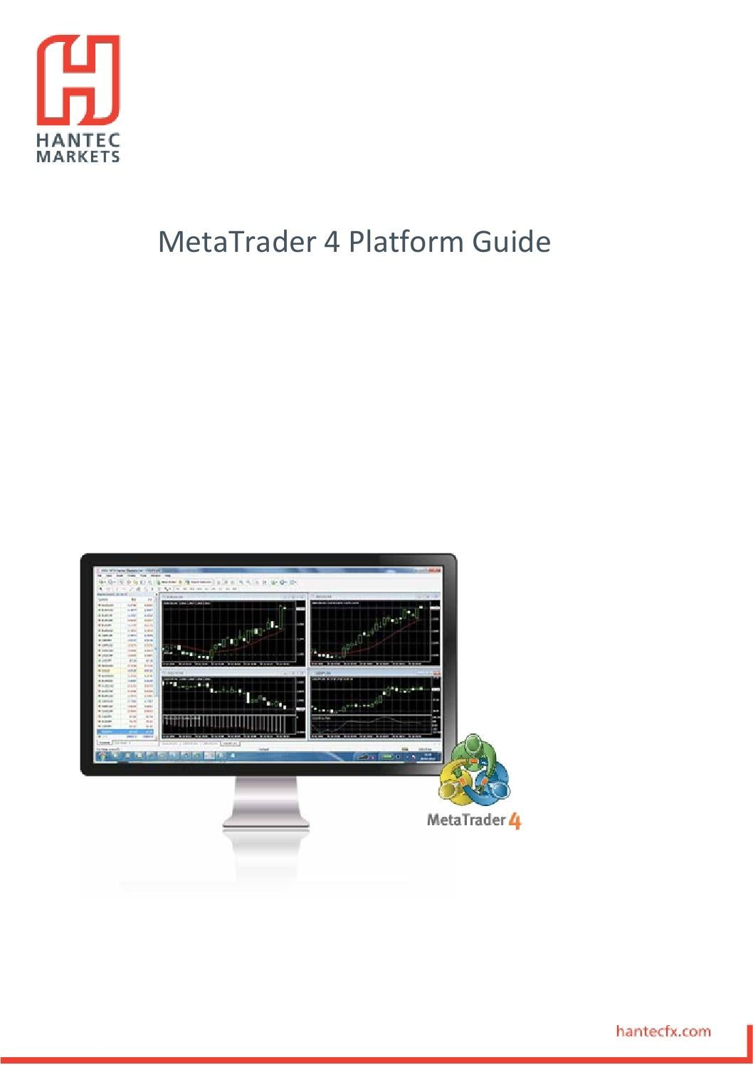 Mt4 User Guide By Hantec Markets Issuu