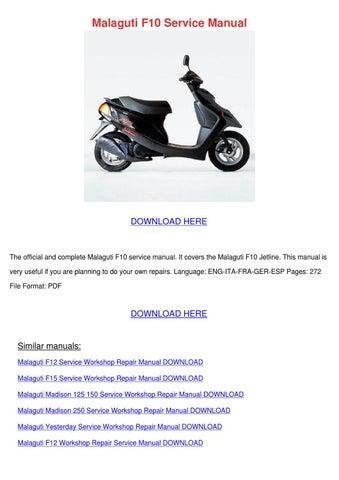 malaguti f12 phantom service manual online user manual u2022 rh pandadigital co Malaguti F12 Tuning Malaguti Parts