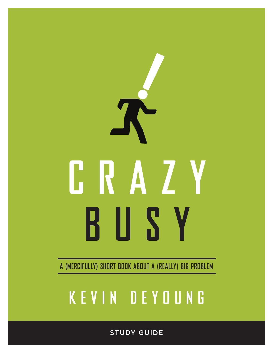Crazy Busy: A (Mercifully) Short Book about a (Really) Big ...