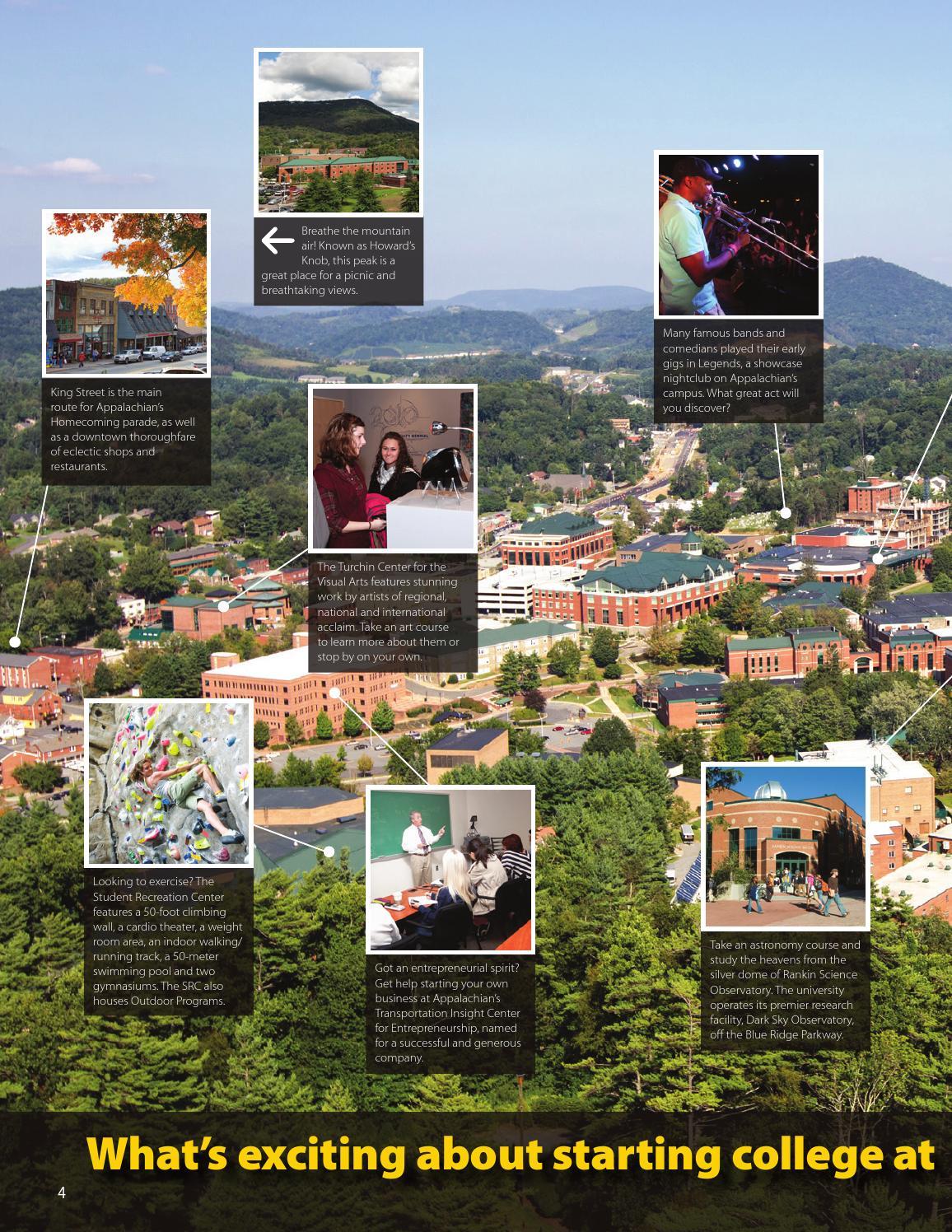 Viewbook 2013-14 by Appalachian State University - issuu