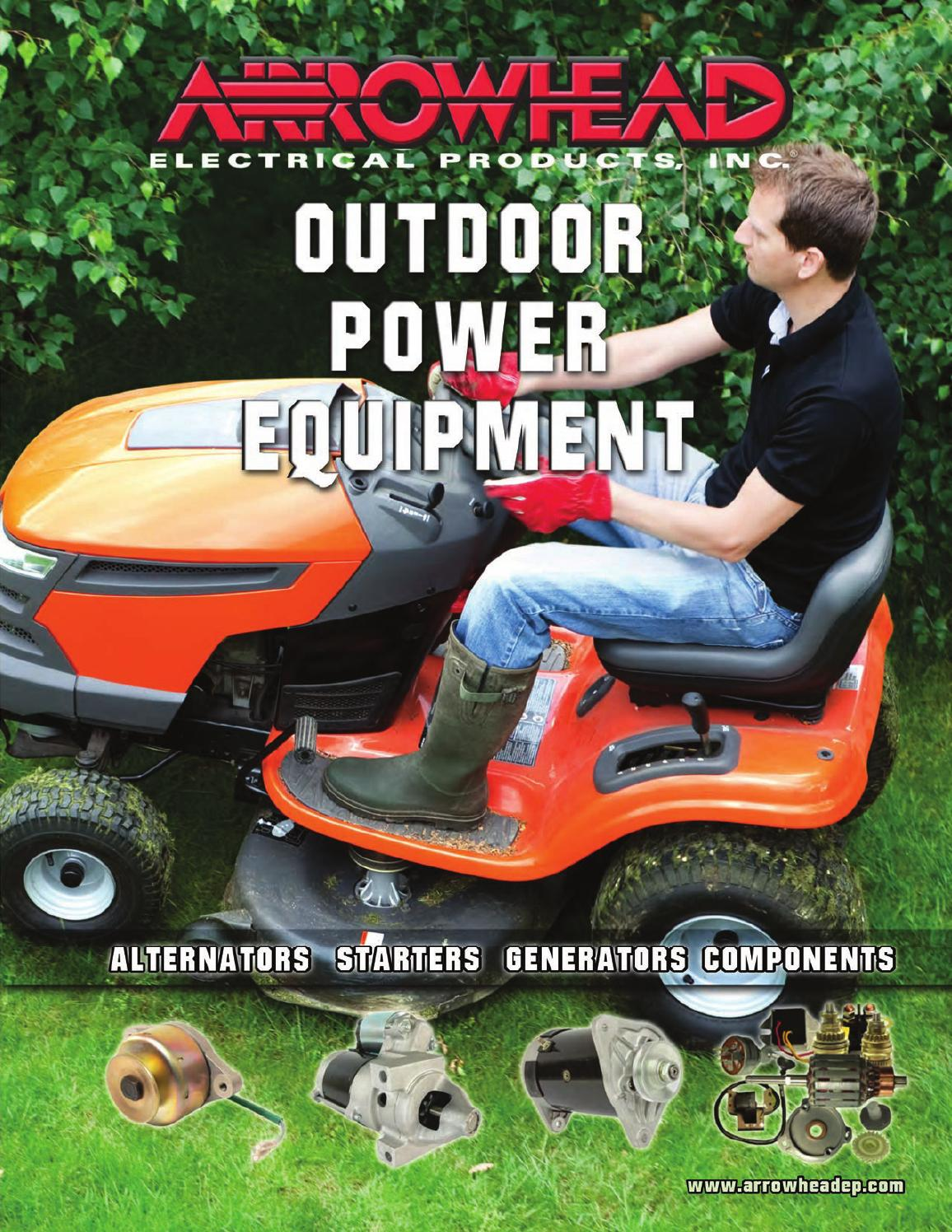 Arrowhead Electrical Products Outdoor Power Equipment Catalog 2013 480 Wiring Diagram Ez Go Workhorse Engine By Issuu